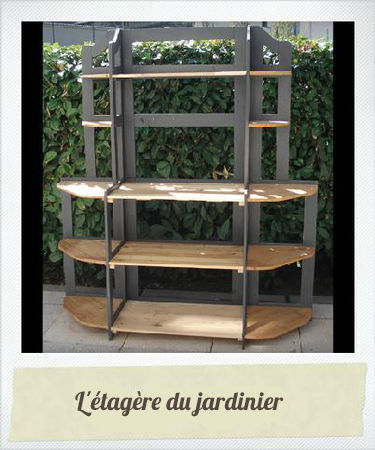 suite et fin du pas pas de l 39 tag re du jardinier le blog de b a. Black Bedroom Furniture Sets. Home Design Ideas