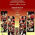 Concert des orchestres d'élèves de la lyre