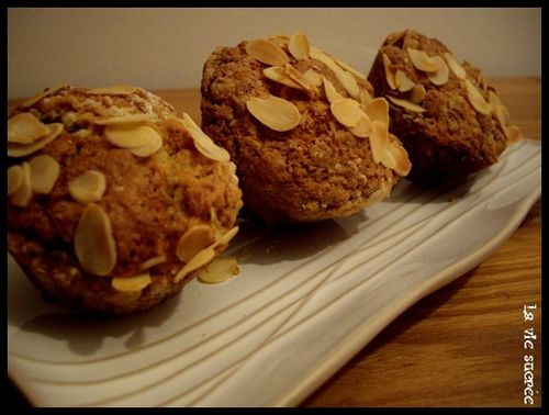 Muffins figues-amande