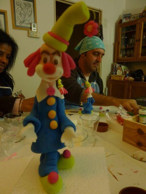 Atelier Clown avec Djalmma en Mars 2010