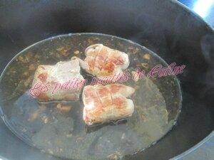 Paupiettes de porc sauce moutarde16
