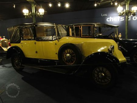 Renault type nm landaulet 1924 Musée National de l'Automobile de Mulhouse, collection Schlumpf 2
