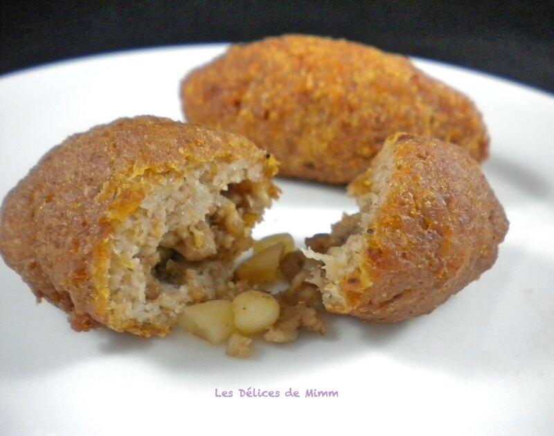 Kebbeh (kibbé) à la libanaise 5
