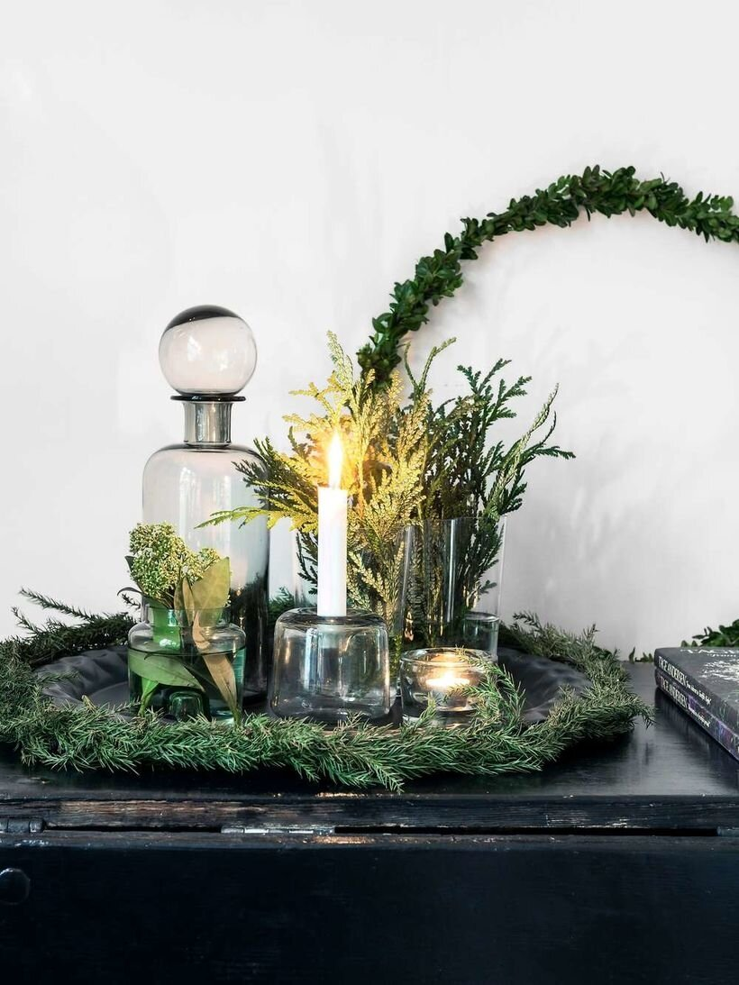Déco de Noël : green is the new bling bling