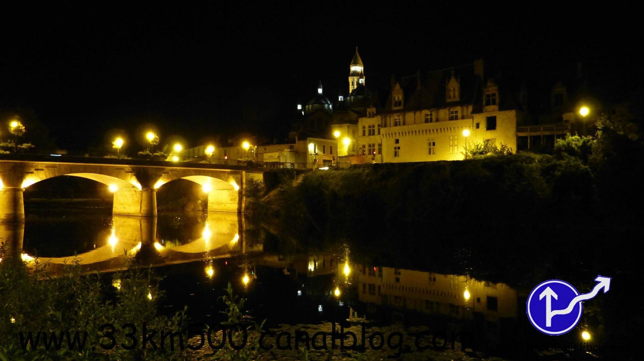 Rando Semi-Nocturne du Périgord Blanc... en photos