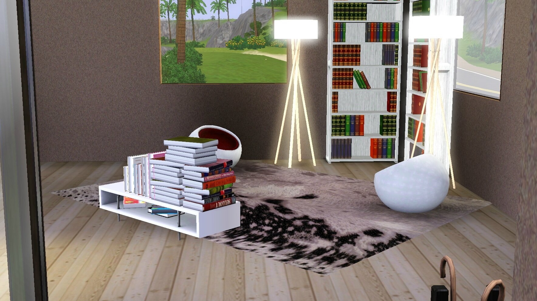 les maisons des sims fous. Black Bedroom Furniture Sets. Home Design Ideas
