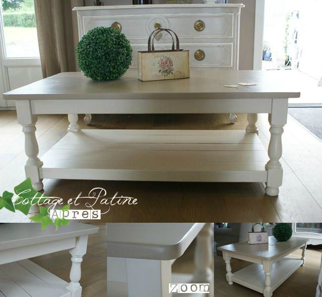 Une Table Basse Qui A Du Quot Chien Quot Avant Apr 232 S Cottage