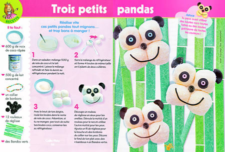 panda coco magazine les p 39 tites princesses f v 2010 le fouillis de fanny tall gas. Black Bedroom Furniture Sets. Home Design Ideas
