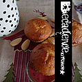 Cupcakes au Miel, Citron & Amandes