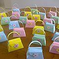 Paquets de bonbons pour les 7 ans de clémence