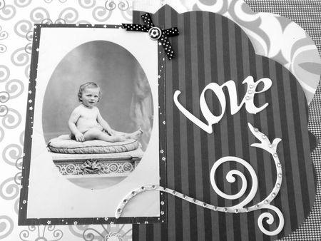 Maman page bébé détail