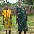 ZAWENI Pauline et sa maman