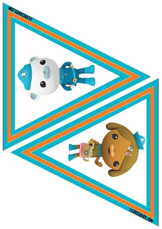 printable fanion octonauts 2