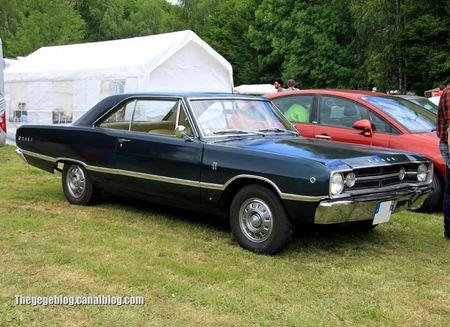 Dodge dart GT 2 door coupé de 1968 (Retro Meus Auto Madine 2012) 01