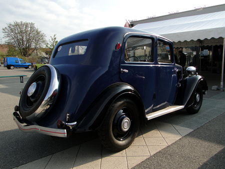 MATHIS EMY M4L 1935 Bourse Echanges Autos Motos de Chatenois 2010 2