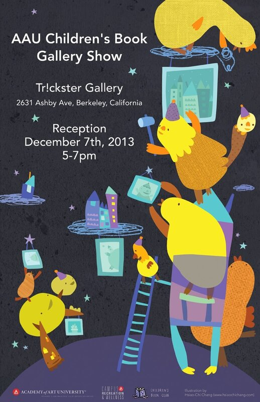 trickster gallery show poster (web posting)