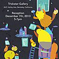 Aau children's book club gallery show at tr!kster