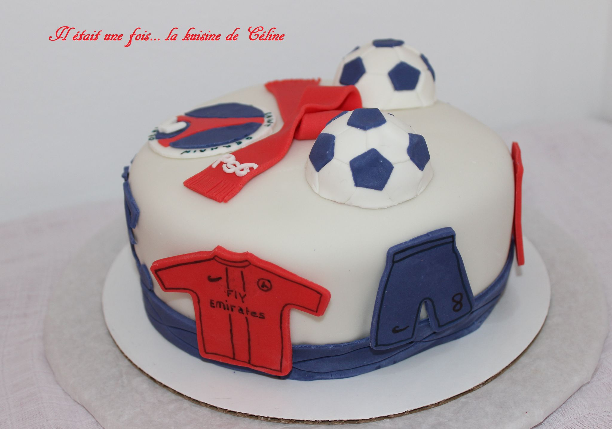 gateau psg pate a sucre home baking for you photo