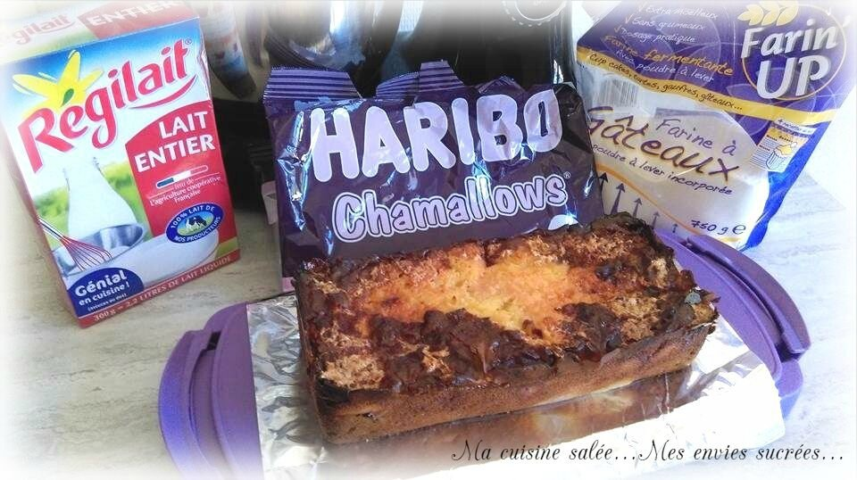CAKE AUX NECTARINES-CHAMALLOWS®