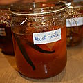 Confiture d'abricots  la vanille