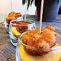 Croquettes de thon pimentées