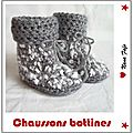 chaussons bottines