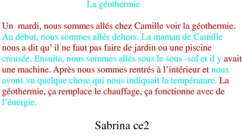 comment se chauffe t on partie n 2 la g othermie par camille et sabrina blog des coles de. Black Bedroom Furniture Sets. Home Design Ideas