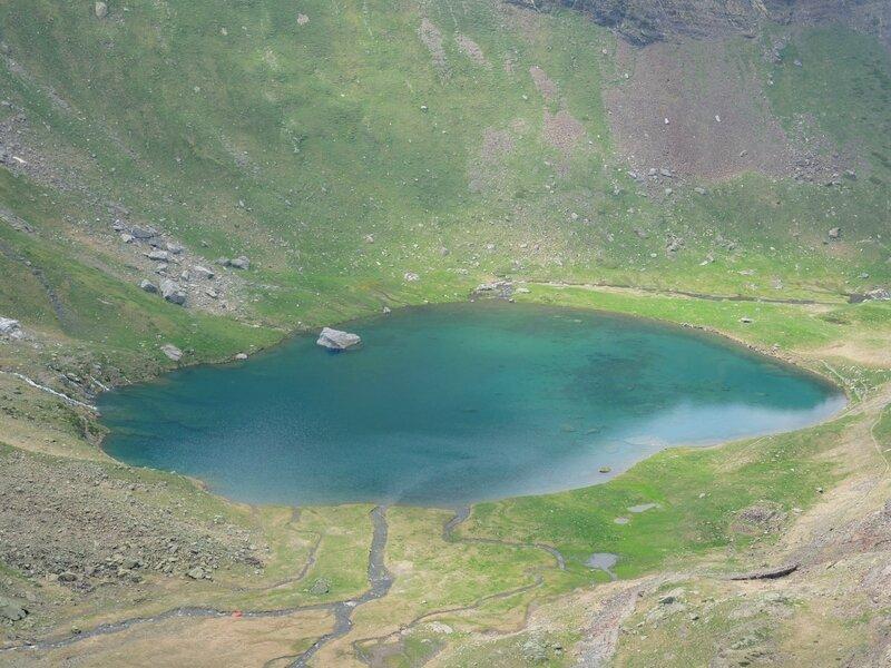 Gourette, P, Les trois Lacs, lac d'Anglas, panorama
