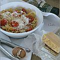 Spaghettini a la balzanella
