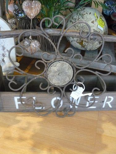 rosace m tal jardin d 39 ulysse photo de vente en ligne l 39 atelier en herbe. Black Bedroom Furniture Sets. Home Design Ideas