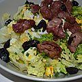 Idée salade de gésiers - 2