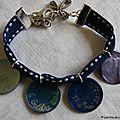 Bracelet de Première Communion sur ruban