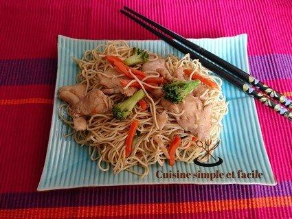 nouilles aux légumes poulet 03