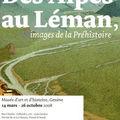 Des Alpes au Léman, expo Préhistoire 2008