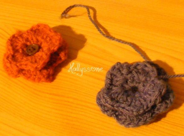 Favori Tutoriel : Fleurs au crochet - Fimo, perles, breloques  Des  TU68