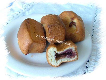 Minis-cakes à la confiture 11