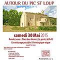 L'association du patrimoine de congénies en balade , les chapelles et églises romanes autour du pic st loup par loïc vannson