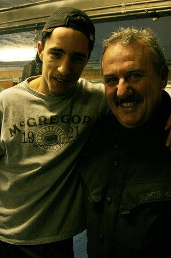 Papy et Mohamed El Marchouchi, notre ami champion de Belgique