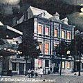 TRELON-La Mairie la nuit