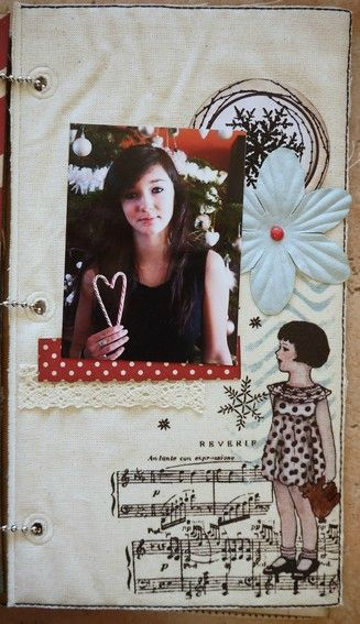Mini album Scrapbox dcembre 15