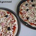 Une pizza fait maison...