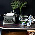 Écrire un roman en buvant un thé,