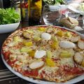 Pizza aztèque, Orléans, 31 octobre 2010. Très bonne, chouette endroit !