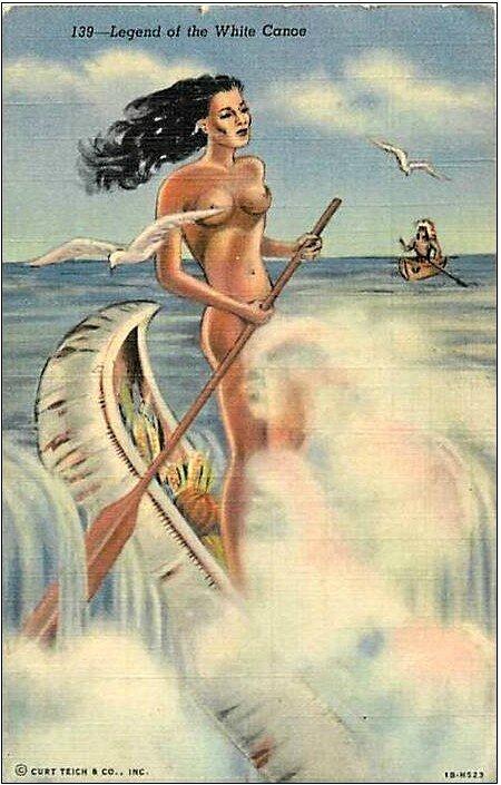Legend of the white canoe