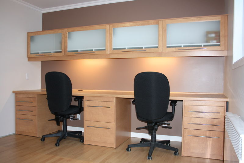 meuble de bureau sur mesure album photos r novation. Black Bedroom Furniture Sets. Home Design Ideas