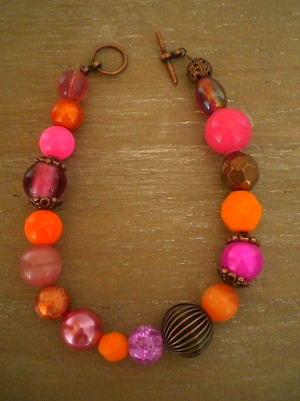 Duo antique Fushia/Orange 25 euros