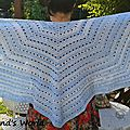 Mon eva's shawl