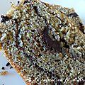 Cake choco noisettes