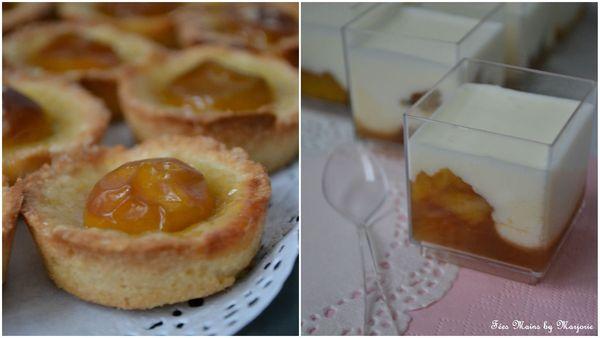 Tartelette + verrine mirabelle