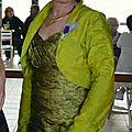 robe sur mesure et boléro/purplely